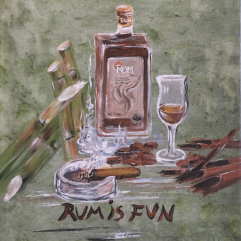 Melasse Rum